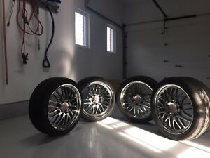 Victor equipment rims and tires custom for Porsche!!