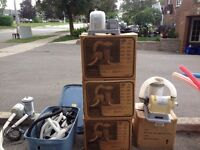 Pool pumps for sale.