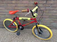 Raleigh burner bmx original 1980s