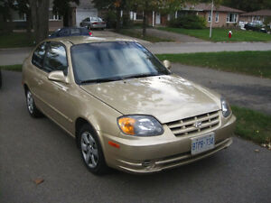 2004 Hyundai Accent GS - E-Tested, Power Options, Auto, Low KM