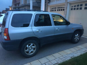 2004 Mazda Tribute - $2200 CASH AS IS, LOW KMS, GREAT CONDITION