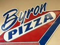 Byron Pizza is looking for a full-time instore staff member.