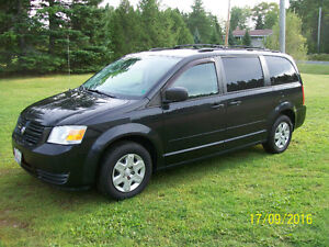 "2008 Dodge Grand Caravan . ""Mint with with Stow and Go seats"""