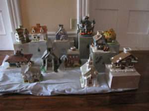 Partylite Candle Houses