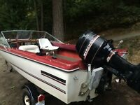 17ft Fibreform with 115hp Mercury and trailer