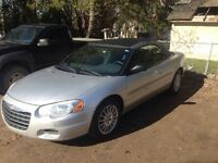 2004 Chrysler Sebring Convertible.