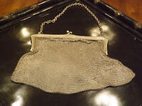 Pure all German silver including mesh. 156 grams of silver in a