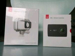 Yi 4k+ action camera (and waterproof case)