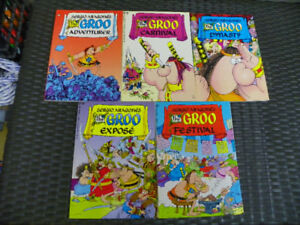 Lot of 5 Groo Graphic Novels / Trade Paperbacks - Epic Comics