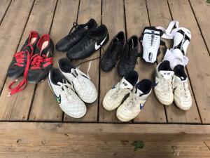 Soccer Cleats & Shin Pads