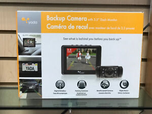 Backup Camera with 3.5 Dash Monitor . BRAND NEW.