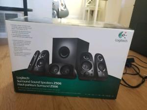 Great Deal Logitech Surround Speakers 5.1 Z506