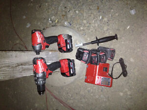 Milwaukee 18v set