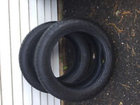 Two 19in Kumho tires