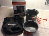 Brand New Hard anodised camping cook kit