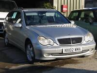 Mercedes-Benz C220 2.1TD auto CDI Avantgarde. Mot July 17. Cheap estate car