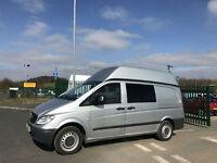Mercedes-Benz Vito 2.1CDi 111 - Long H/Roof Camper Day Van - NO VAT