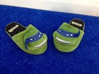 Size 13 infant boys turtle slippers