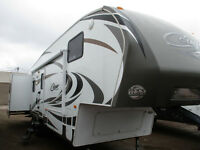 2011 Keystone Cougar Fifth Wheel 318SAB