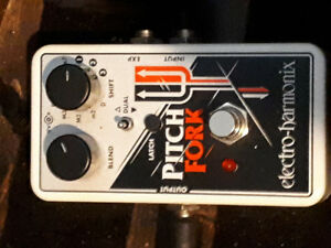 Electroharmonix Pitch Fork pitch shifter guitar pedal