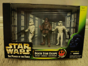 Star Wars 3 figure set Death Star Escape *NEW IN BOX*