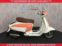 LAMBRETTA LN LAMBRETTA LN125 RETRO SCOOTER ONLY 9 MILES FROM NEW 2014 64