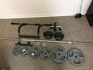 Barbell, Pull-up bar, weight, exercise equipment
