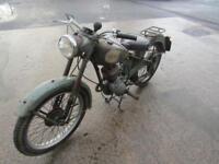 1954 BSA D1 BANTAM ORIGINAL OLD BIKE.