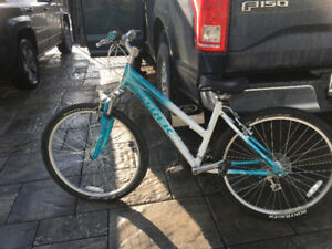 Woman's TREK Mountain Bike