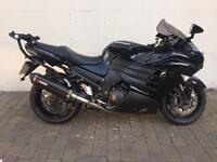Kawasaki ZZR 1400 LOTS OF EXTRAS