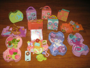 Littlest Petshop Teeniest Tiniest Play Sets Lot