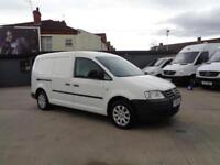 VOLKSWAGEN CADDY 1.9 TDI (104PS) | MAXI | 1 OWNER | NO VAT TO PAY | 2009