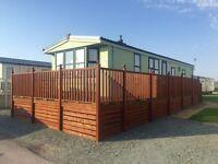 Static caravan for sale ocean edge holiday park Lancaster Morecambe 12 ment season 5*facilities
