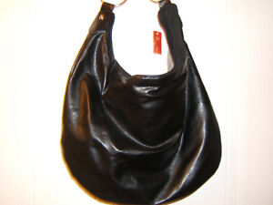 BLACK PLEATHER HANDBAG   NEW Kingston Kingston Area image 1