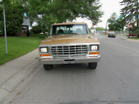 1979 Ford F150 flat Deck 300 - Six