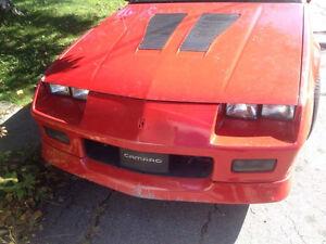 1987 Camaro iroc-z a vendre