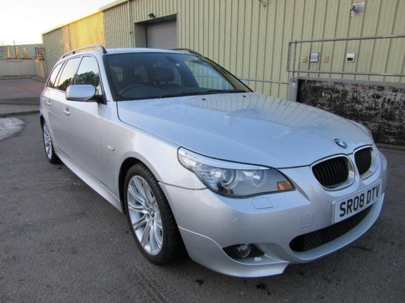 2008 BMW 5 Series 2.0 520d M Sport Touring 5dr | in Elgin, Moray ...