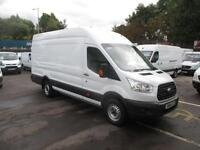 2014 64 FORD TRANSIT 350 JUMBO LONG CUBE 125 BHP TURBO DIESEL ONE LEASE COMPA