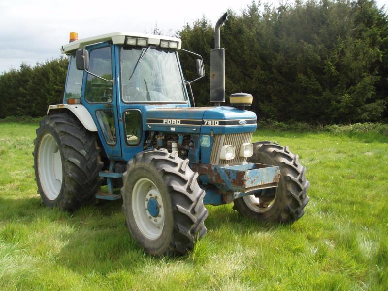 Ford 7810 Tractor : Tractor ford  bhp onwer f s history low