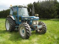 4 X 4 TRACTOR FORD 7810 (100 BHP)1 ONWER, F/S/HISTORY,LOW HOURS,GOOD MACHINE