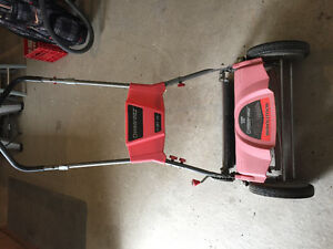 "18"" Troy built push lawn mower"