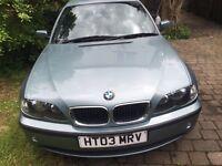 BMW318 auto 03 reg