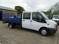 Ford Transit 350 Lwb 26,000 miIes Double Crew Cab Drop side Pick up Tail lift