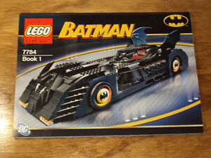 "Lego Batman ""Batmobile""  #7784"
