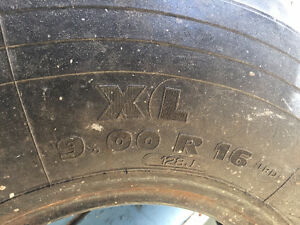 Military Army Tire from M43 9.00 R16