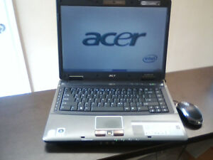 ACER Laptop loaded with Winows 7 and office