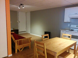 Brand new & spacious one bedroom fully furnished basement suite Prince George British Columbia image 2