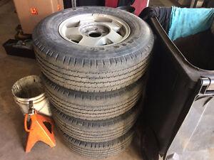 245/75/16 Michelin LTX m&s