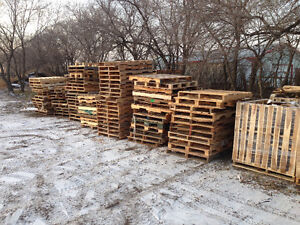 Free odd size and scrap pallets