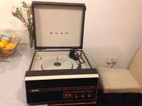 Vintage record player Bush RP50